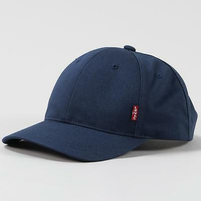 Levis Accessories Classic Baseball Cap Navy Blue One Size Unisex Design
