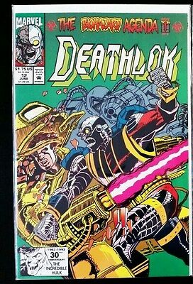 Deathlok #12 (1991 Marvel Comics) ~ VF/NM Comic Book