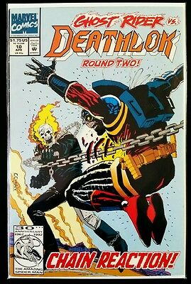 Deathlok #10 (1991 Marvel Comics) ~ FN Comic Book