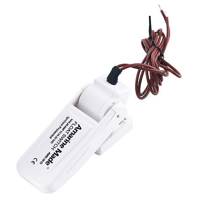 Amarine-made Marine Bilge Pump Float Switch - White AU STOCK