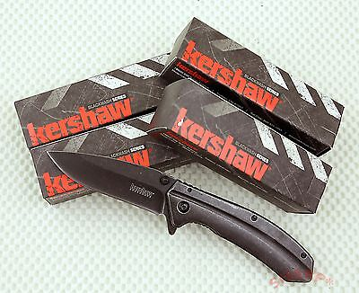 5 pack 1306BW Kershaw Filter pocket knife plain edge Assisted Opener knives NIB
