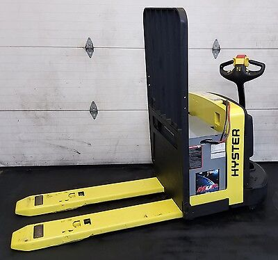 Hyster 24V Electric Pallet Jack Truck 6000 Lbs Capacity Equipment Moving W60Z