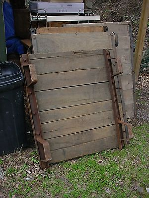 3 Vintage Industrial Railroad Pallet Coffee Table 42 x 36 x 9 high