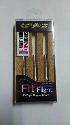 COSMO FIT SUPER DURALUMIN SLIM SPINNING #2 SHAFTS 18mm  FOR FIT FLIGHTS ONLY