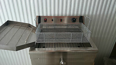 Commercial Large Capacity 20L Donut, Funnel Cake, Twister Fryer
