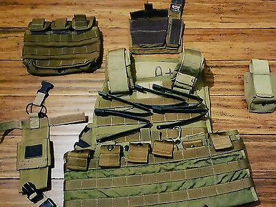 SO Tech Callahan plate carrier and assorted Milspec pouches