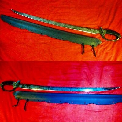 Zombie Tools D'capitan Saber Custom Handmade Sword USA Made