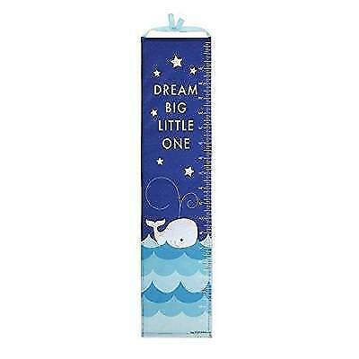 DEMDACO Whale Growth Chart with Stickers New