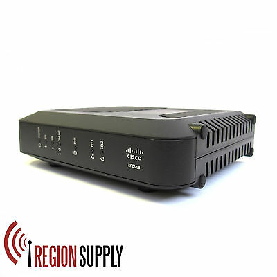 Cisco - DPC3208 - VoIP  Telephony Cable Modem/Router - Docsis 3.0 - For Charter