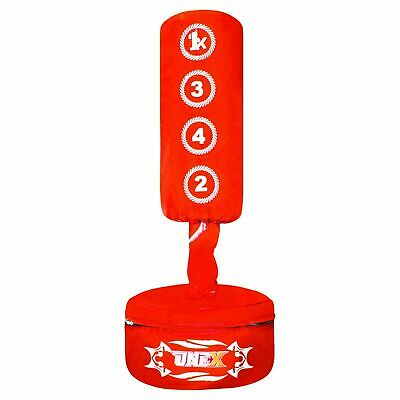 Free Standing Punch Bag Boxing MMA Kick Training Free Without Bracket Bag Gloves