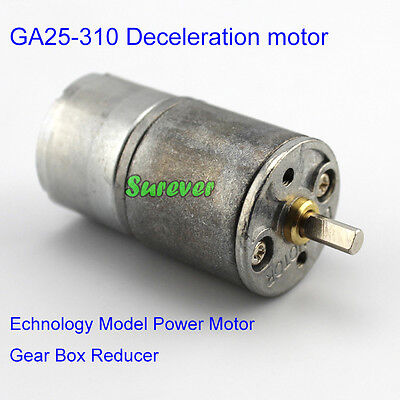 GA25-310 Deceleration motor Technology Model Power Motor Gear Box Reducer DC1-6V