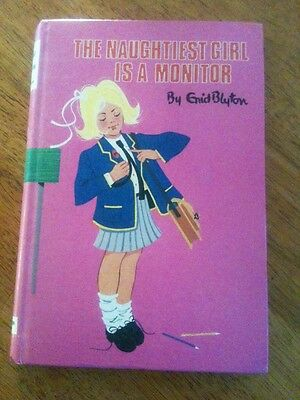 The Naughtiest Girl is a Monitor by Enid Blyton (Hardcover, 1973) VGC