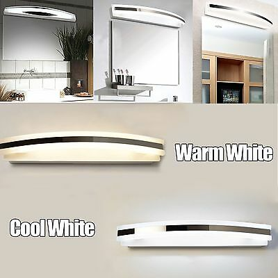 Modern 12W LED Mirror Front Light Bathroom Vanity Makeup Dressing Wall Lamps