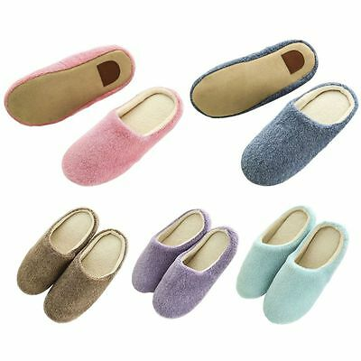 New Women Men Anti-slip Shoes Soft Warm Cotton House Indoor Home Slippers Shoes