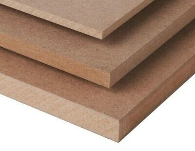 A5 MDF SHEETS BOARDS 210mm x 148mm VARIOUS THICKNESS MEDIUM DENSITY FIBREBOARD