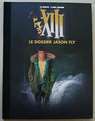 XIII Le Dossier Jason Fly W VANCE & J VAN HAMME éd Dargaud & Figaro Luxe