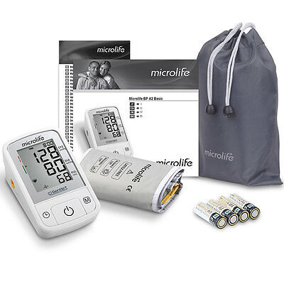 Microlife BP A2 Basic Automatic Blood Pressure Monitor Clinically Tested BHS