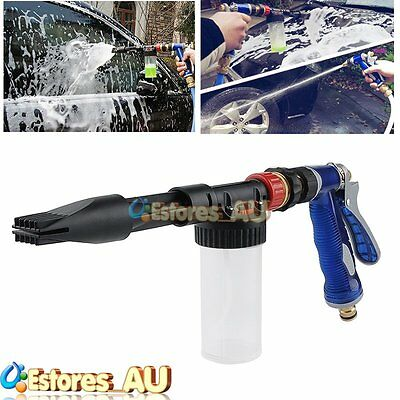 New Multifunctional Car Wash Spray Gun Lance Uses Hose Pipe + 100ML Bottle【AU】