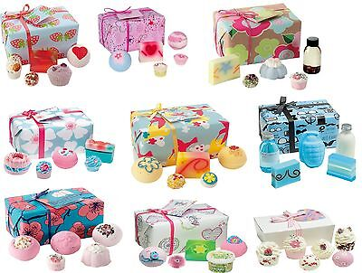 Bomb Cosmetics Bath Gift Sets Pre-Wrapped Handmade Birthdays