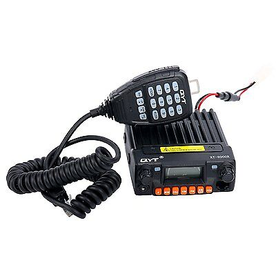 Tri-Band UHF VHF 25W Car/Trunk Ham Mobile Transceiver Two Way Radio QYT KT-8900R