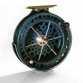 """J W Young Heritage 4.5"""" x 0.75"""" / Centrepin Fishing Reel"""