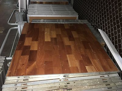 88 Piece 792 Square Foot Portable Wood Dance Floor Forbes Industries