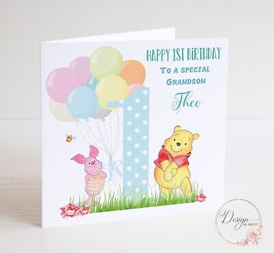 Son 3d Tigger Childrens Birthday Card 9 X 475 Disney Winnie