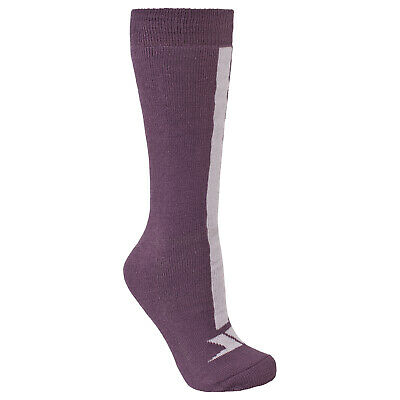 Trespass  Delamar Kids Unisex Thermal Ski Tube Socks