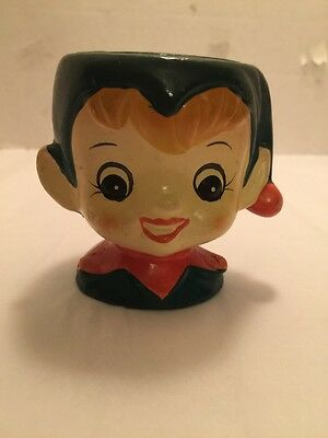 Vintage Elf Candle Holder Inarco Japan