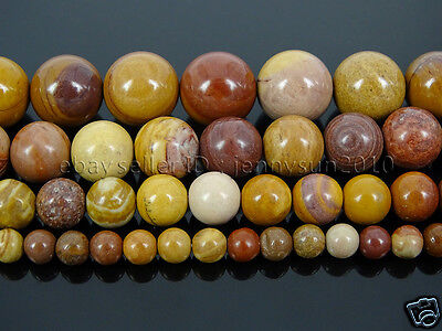Natural Sunset Mookaite Gemstone Round Loose Spacer Beads 15'' 4mm 6mm 8mm 10mm