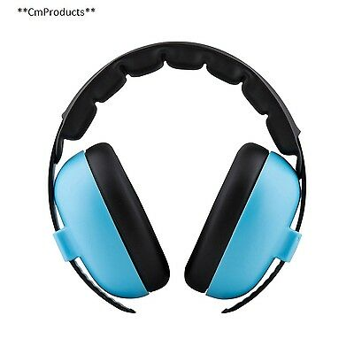 Baby Banz EMBB Hearing Protection 0 2 Years Blue