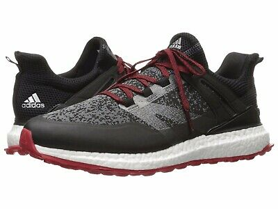 brand new cde84 77e4f Q44684 Mens Adidas Ultra Crossknit Boost Golf Sneakers - BlackRed