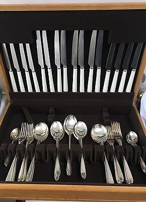 DAVID MELLOR PRIDE CANTEEN CUTLERY SILVER PLATE Knives Forks Spoons SHEFFIELD