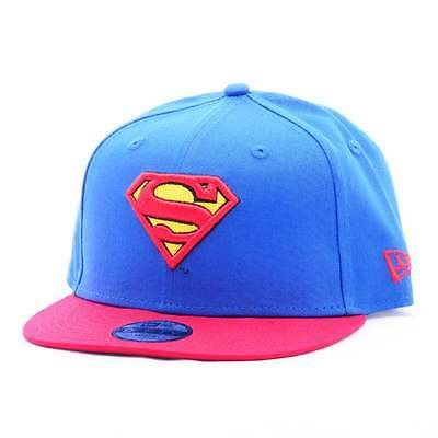 80469060-BLU-RED, Gorra New Era – 9Fifty Hero Essential Snap Superman azul/rojo,