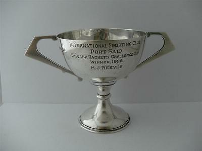 FINE SOLID SILVER TROPHY CUP Sheffield 1927