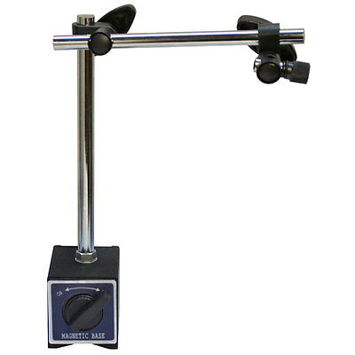170 Lbs Cap Standard Magnetic Base Dial Indicator Holder w/ Fine Adjustment