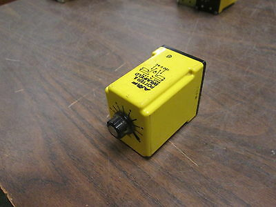 Potter & Brumfield Time Delay Relay CDB-38-70003 120V 0.1-10Sec Used