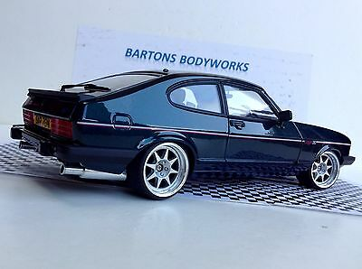 1 18 mk3 ford capri 280 brooklands rs mk1 rally tuning. Black Bedroom Furniture Sets. Home Design Ideas