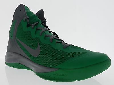 6f278b188c621 Nike Mens Zoom Hyper Enforcer PE Lucky Green Cool Grey Celtics Shoes 487655  300