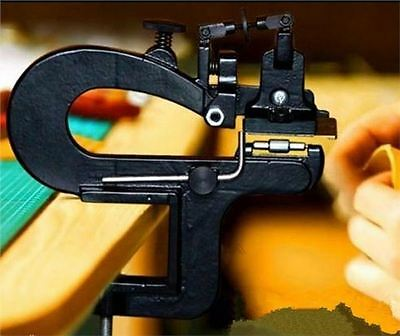 Leather Craft Edge Skiving Machine Leather Splitter Paring Machine New Skiver T