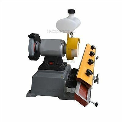 Small Type Mf206 Woodworking Straight Knife Sharpener Grinding Machine 220V Y T