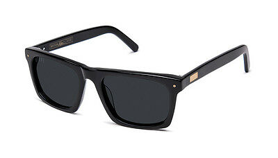Brand New 9FIVE Eyewear Watson Glossy Black Sunglasses