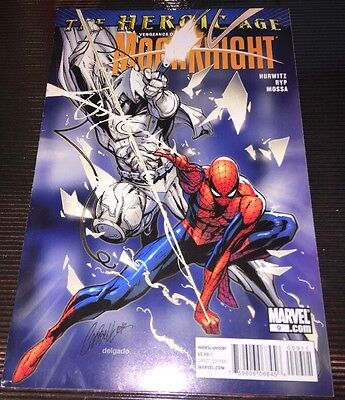 VENGEANCE OF THE MOON KNIGHT #9 Variant J SCOTT CAMPBELL Spider-Man MARVEL HOT!