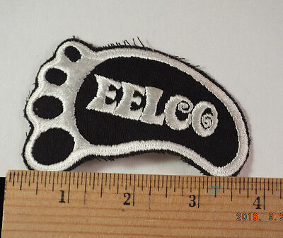 Vintage Eelco  Embroidered Patch Rat Hot Rod Drag Racing