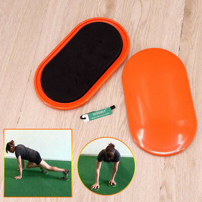 Perfect Exercise Sliders - 2 Dual Sided Gliding Discs for Carpet and Hard Floors