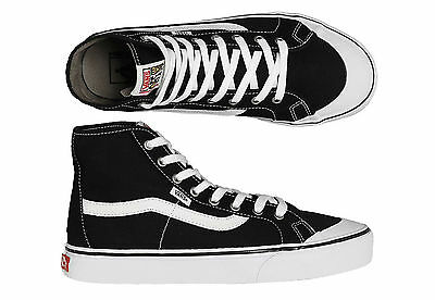 Vans Shoes Black Ball Hi SF White Black Wade Goodall RRP $99 Skateboard Sneakers
