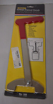 GENERAL 192 Garbage Disposal Wrench Safely dislodges shredder plate jams