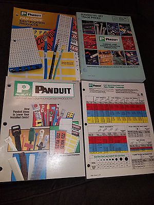Vintage Panduit Industrial Wiring & Communication Parts Catalog Books