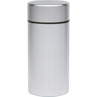 Stash Jar - Aluminum Air Tight Herb Jar  - Smell Proof Container (Discreet) Weed
