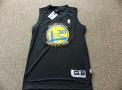 Steph Curry size medium no 30 Golden State Warriors  NBA Jersey, Free Post
